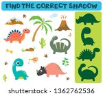 find the correct shadow ... | Shutterstock .eps vector #1362762536