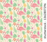 background pattern with... | Shutterstock .eps vector #1362807296