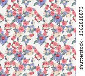 Floral Seamless Pattern. Hand...