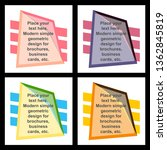 modern bright vector poster big ...   Shutterstock .eps vector #1362845819