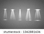 floodlight. bright lighting... | Shutterstock .eps vector #1362881636