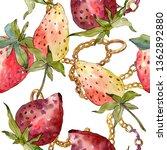 strawberry healthy food....   Shutterstock . vector #1362892880
