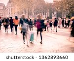 london's west end  crowds of... | Shutterstock . vector #1362893660