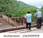 visiting ten thousand buddha...   Shutterstock . vector #1362909959