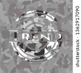 trend on grey camouflaged... | Shutterstock .eps vector #1362917090