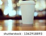 take away coffee cup empty... | Shutterstock . vector #1362918893