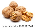 Whole And Cracked Walnuts...