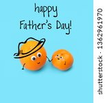 happy father's day. creative... | Shutterstock . vector #1362961970