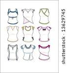 graphic shirt designs  shirt... | Shutterstock .eps vector #13629745