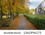empty path for pedestrians and... | Shutterstock . vector #1362996173