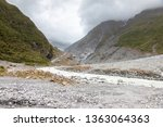 an image of the riverbed of the ... | Shutterstock . vector #1363064363