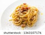 Dish Of Spaghetti Alla...