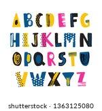 Cute Childish Latin Font Or...