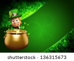 Leprechaun For Patrick Day On...