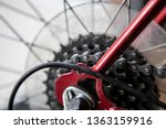 close up of bike chain gear... | Shutterstock . vector #1363159916