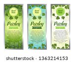 vector set of templates...   Shutterstock .eps vector #1363214153