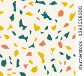 abstract confetti background.... | Shutterstock . vector #1363238300