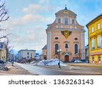 bad ischl  austria   february... | Shutterstock . vector #1363263143