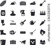 solid vector icon set  ...   Shutterstock .eps vector #1363282076