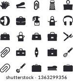 solid vector icon set   apron...   Shutterstock .eps vector #1363299356
