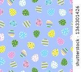 easter pattern. vector. easter...   Shutterstock .eps vector #1363301426