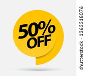sale of special offers.... | Shutterstock .eps vector #1363318076