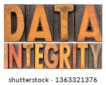data integrity isolated word... | Shutterstock . vector #1363321376