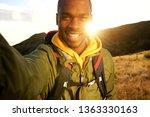 portrait of happy black man...   Shutterstock . vector #1363330163