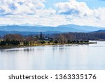calm day at beautiful columbia... | Shutterstock . vector #1363335176