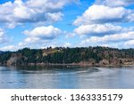 calm day at beautiful columbia... | Shutterstock . vector #1363335179