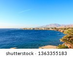 view of the lighthouse bay of... | Shutterstock . vector #1363355183
