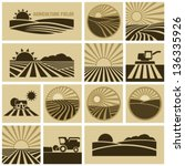 agriculture field | Shutterstock .eps vector #136335926