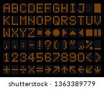 display letters and figures... | Shutterstock .eps vector #1363389779