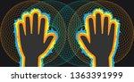 vector illustration of human... | Shutterstock .eps vector #1363391999