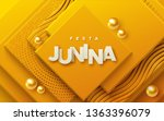 festa junina. vector holiday... | Shutterstock .eps vector #1363396079