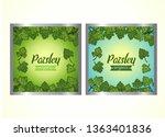 vector set of templates...   Shutterstock .eps vector #1363401836