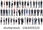 collage of a variety of... | Shutterstock . vector #1363435223