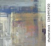 abstract texture. 2d... | Shutterstock . vector #1363491920