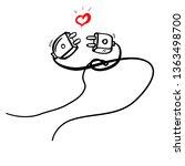 simple illustration for... | Shutterstock .eps vector #1363498700
