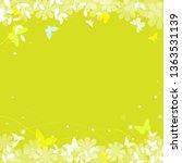 abstract spring summer... | Shutterstock .eps vector #1363531139