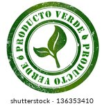 green product grunge stamp  in... | Shutterstock . vector #136353410
