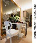 modern dining room | Shutterstock . vector #136353530