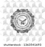 crossed pistols icon inside... | Shutterstock .eps vector #1363541693