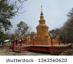 architecture in thai temples ... | Shutterstock . vector #1363560620