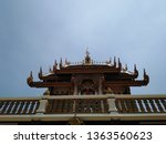 architecture in thai temples ... | Shutterstock . vector #1363560623
