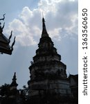 architecture in thai temples ... | Shutterstock . vector #1363560650