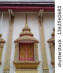 architecture in thai temples ... | Shutterstock . vector #1363560683
