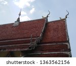 architecture in thai temples ... | Shutterstock . vector #1363562156