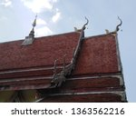 architecture in thai temples ... | Shutterstock . vector #1363562216