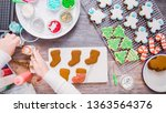 flat lay. step by step.... | Shutterstock . vector #1363564376